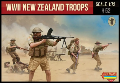 M111 WWII New Zealand Troops