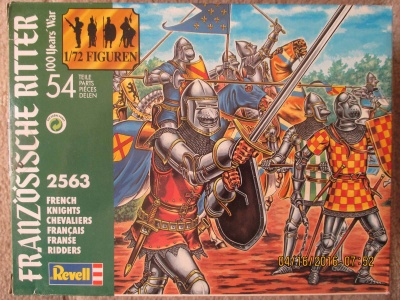 REVELL TOY SOLDIERS 1/72 - 02563 - Hundred Years War French Knights