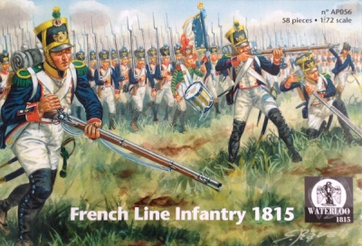 Waterloo 1815 - 056 French Line Infantry 1815 - SET